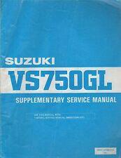 1985 Suzuki Motorcycle Vs750Gl Supplementary Service Manual99501-37050-01E (011)