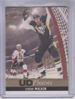 2013-14 Upper Deck Canvas #C37 Evgeni Malkin - NM-MT