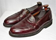 Alden Full Strap Burgundy Calfskin Slip-on Penny Loafer 8.5 c/e
