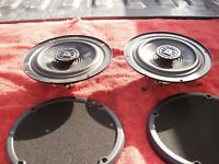 Harley-Davidson E-Glide Ultra Classic&Ultra Limited OEM Speakers w/ Grilles