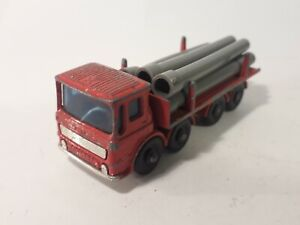 Matchbox Leyland Pipe Truck  No 10  late 1960's