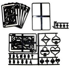 Patchwork Cutters Spielkarten Casino Poker Zuckergussßkuchendekoration