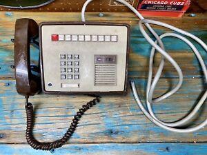 Vintage ITT Multi Line Push Button Intercom Desk Phone