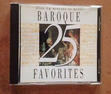 ☀️ 25 Baroque Favorites CD Vivaldi Bach Handel Classical Music Favorites MINT
