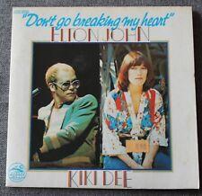 Elton John & Kiki Dee, don't go breaking my heart  , SP - 45 tours France