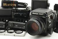 【TOP MINT】Mamiya RZ67 PRO II Sekor Z 110mm f/2.8 W 120 + 220 Film From Japan 533