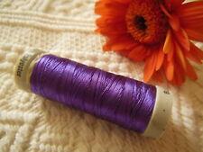 bobine FIL à broder Gutermann violet effet fil metallique col 571