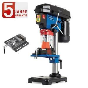 Scheppach Tischbohrmaschine DP16VLS mit Laser, 16mm Bohrfutter + Schraubstock