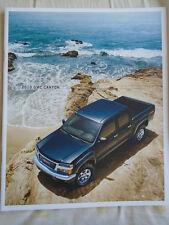 GMC Canyon USA Gamme brochure 2010 USA MARKET