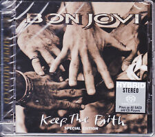 """Bon Jovi Keep The Faith"" Special Edition Limited Numbered Hybrid SACD CD Sealed"