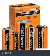 Duracell Industrial Batteries Battery 9V 10 Piece