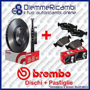 KIT DISCHI + PASTIGLIE FRENO ANTERIORI BREMBO RENAULT MEGANE III 1.9 DCI  08->