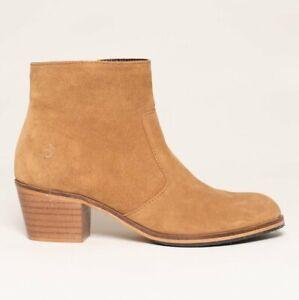 BRAKEBURN Heeled Chelsea Boots Stiefeletten - Tan