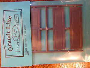 Grandt Line G #3956 Paneled Shutters ONLY to Fit #3956