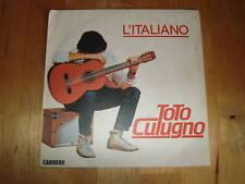45 tours toto cutugno l'italiano