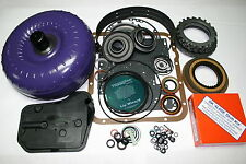 4L60E 4x4 Rebuild Kit TLBX Torque Converter Transgo Shift Kit 97-03 Transmission
