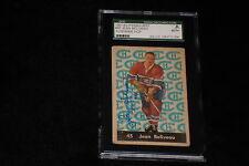 HOF JEAN BELIVEAU 1961-62 PARKHURST SIGNED AUTOGRAPHED CARD #45 SGC SLABBED