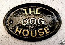 THE DOG HOUSE - HOUSE DOOR PLAQUE DOG SIGN HUSBAND MEN