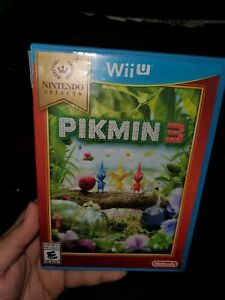 Pikmin 3 Nintendo Wii U Complete mint played once ship out fast  !!