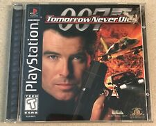 007 Tomorrow Never Dies (PlayStation 1, 1999) PS1 Game Complete