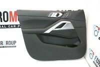 BMW Porta Bordo Pannello Anteriore Sinistra Pelle Vernasca Black 9474005 X6 G06