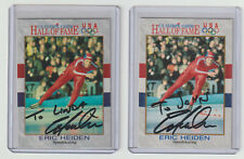 ERIC HEIDEN 1991 Impel USA Olympic Hall of Fame Card #36 Autograph ON CARD AUTO