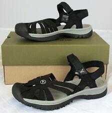 Keen Women's Rose Sandals 1008783 - Black / Neutral Gray - 8