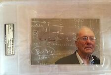 Charles Townes Signed Autographed Photo Physicist Laser Inventor Nobel Psa/Dna