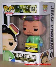 FUNKO 2014 POP BREAKING BAD EE EXC JESSE PINKMAN #161 GREEN HAZMAT SUIT In Stock