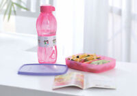 Tupperware with love lunch set ( 1 bottle and 1 lunch box )