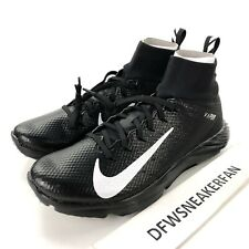 Nike Vapor Untouchable 2 Men's 8 Football LAX Turf Shoes Black 917169-001