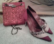Woman's Red or Dead Shoes and Handbag Size 5