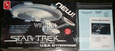 Star Trek USS ENTERPRISE Smooth Refit Model Kit MISB + Aztec Decals & More TMP