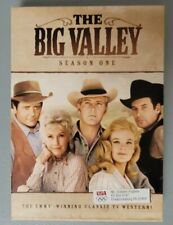 THE BIG VALLEY - The Complete First 1 One Season DVD - Free Shipping!