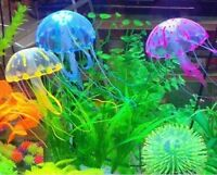 Artificial Jellyfish Decoration Glowing Effect Aquarium Fish Tank Ornament