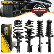 OREDY Full Set of 4 Complete Strut & Coil Spring Assembly For Toyota Camry 97-01