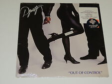 DYNASTY out of control Lp RECORD DISCO FUNK SYNTH POP 1988 SEALED