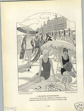 1927 PAPER AD Art Deco Jantzen Knitting Mills Hercules Engine Commercial Print