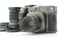 【EXC+5】 Mamiya 7 Medium Format Camera + N 80mm F4 L + N 150mm F4.5 L From JAPAN