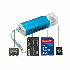 All In 1 Usb 2.0 Memory Card Reader Micro Sd Mmc Sdhc Tf Adapter For Laptop Us