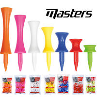 Masters Tees Graduated Plastic Golf Tees - Various Options