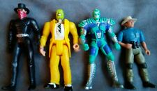 Lot of (4) KENNER Action Figures - (Jurassic Park, The Shadow, The Mask, Batman)