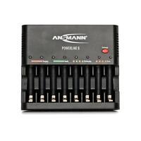 Ansmann Powerline 8 schnelladegeraet Chargeur de Batterie Chargeur sans piles
