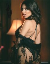 Darcie Dolce In Black Lingerie Adult Model Signed 8x10 Photo COA Proof 14A