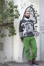 Herren Pullover Strick Pulli knitted Manhattan Skate 90er True VINTAGE 90s grau