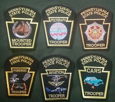 Pa state police patch lot