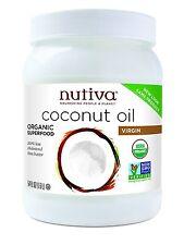 Nutiva Organic Extra Virgin Coconut Oil (Bulk) 1.6Ltr
