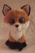 "2015 Ty Slick Fox Beanie Boos Boo Large Jumbo 10"" Justice Exclusive Plush Animal"