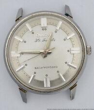 Vintage 1970 N0 Bulova 30J Reloj Para hombres Automático De Acero Inoxidable