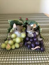 Charming Tails by Fitz & Floyd: I'm So Grape-ful For You, Original Box #89/170
